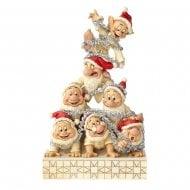 Precarious Pyramid Seven Dwarfs Figurine