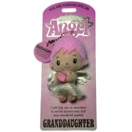 Precious Granddaughter Angel Keyring