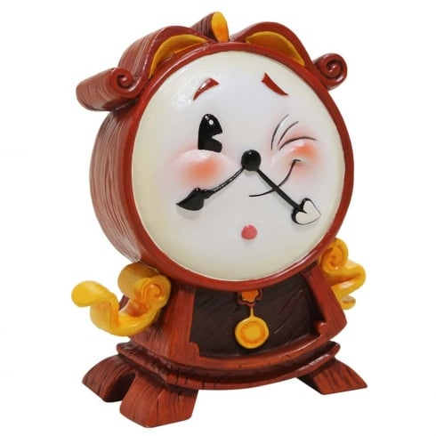 The World of Miss Mindy Presents Disney *Preorder* Cogsworth Figurine