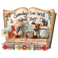 *Preorder* Someday You Will Be A Real Boy Storybook Pinocchio