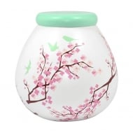 Pretty Blossom Ceramic Money Pot