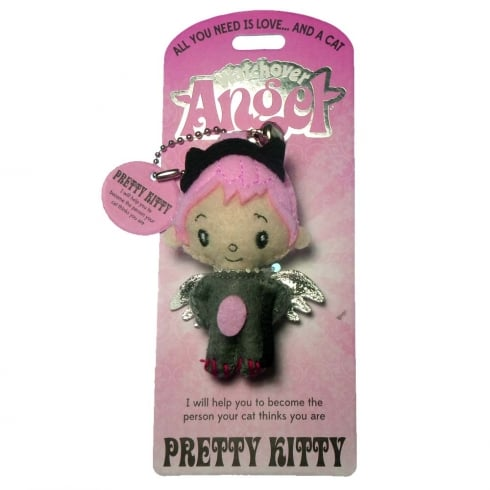 Watchover Angels Pretty Kitty Angel Keyring