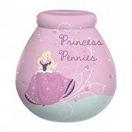Princess Pennies Ceramic Money Pot