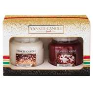 Yankee Candle Holiday Party 2016 Medium Jar Candle Set - Berry Trifle & All Is Bright