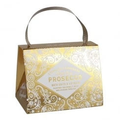 Prosecco Bath Salts & Lip Balm Set
