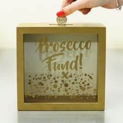 Prosecco Fund Money Box