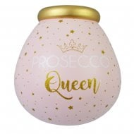 Prosecco Queen Ceramic Money Pot