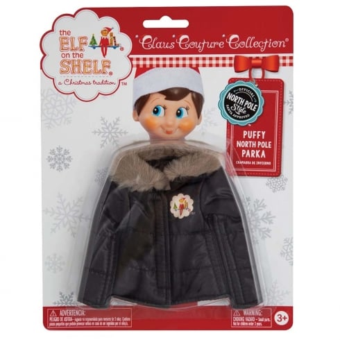 The Elf on the Shelf Puffy North Pole Parka