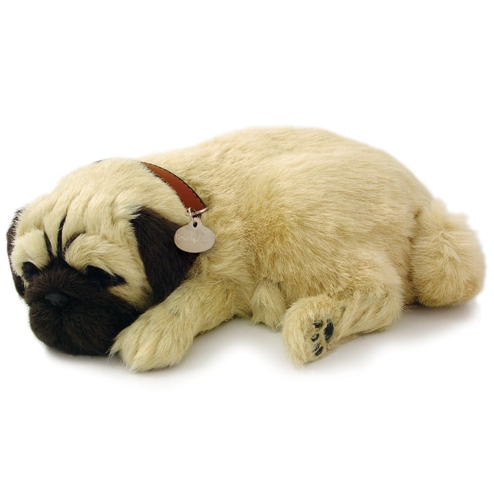 Precious Petzzz Pug Lifelike Breathing Puppy Dog 59460