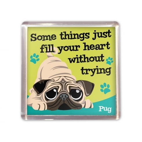 Wags & Whiskers Pug Magnet