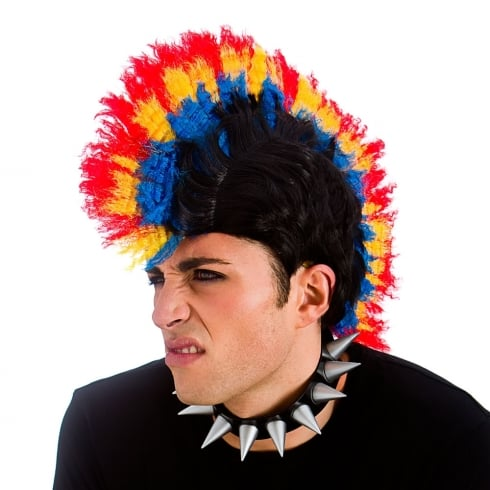 Wicked Costumes Punk Mohican Wig