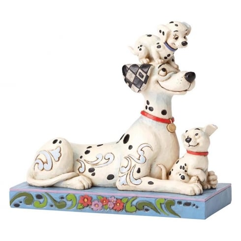 Disney Traditions Puppy Love Pongo with Penny & Rolly
