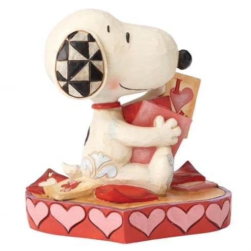 Jim Shore - Peanuts Puppy Love Snoopy