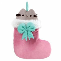 Pusheen Cat In Stocking Hanging Ornament