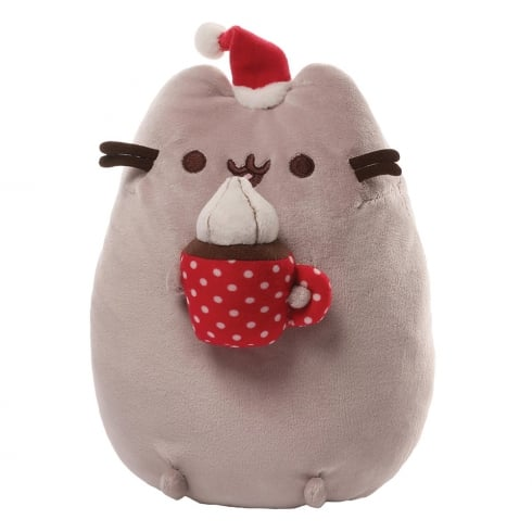 Gund Pusheen Christmas Snackable Plush Soft Toy