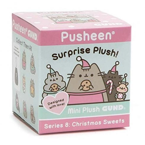 Gund Pusheen Christmas Surprise Mystery Blind Box Series 8