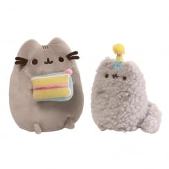 Pusheen & Stormy Cats Birthday Set Soft Toys