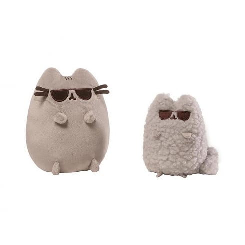 Gund Pusheen & Stormy Cats Sunglasses Set Soft Toys