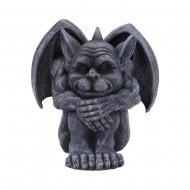 Quasi Dark Black Grotesque Gargoyle Figurine