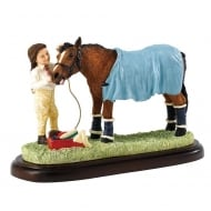 Ready For Home Horse Figurine
