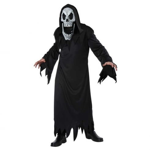 Fun World Reaper Elongated Faces Costume Large