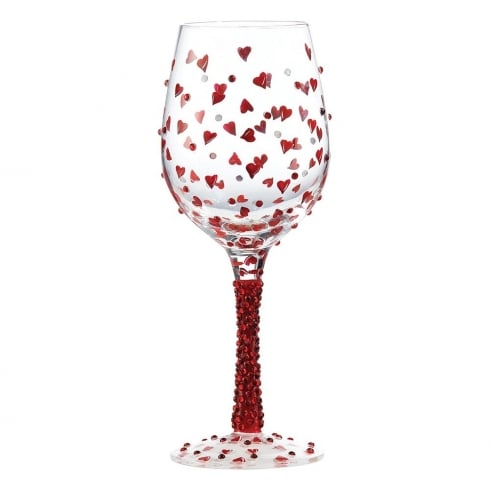 Lolita Red Hot Wine Glass