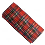 Red Tartan Long Purse