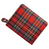 Red Tartan Purse