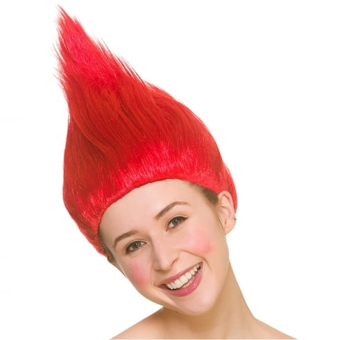 Wicked Costumes Red Troll Wig
