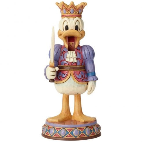 Disney Traditions Reigning Royal Nutcracker Donald Figurine