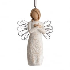 Remembrance Angel Hanging Ornament