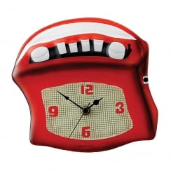 Retro Radio Wall Clock