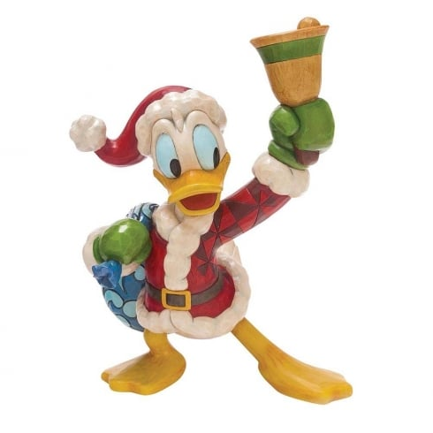 Disney Traditions Ring In The Holidays (Donald Duck) Figurine