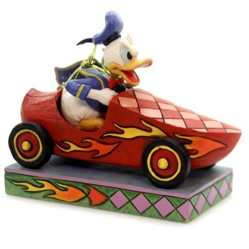 Disney Traditions Road Rage Donald Figurine
