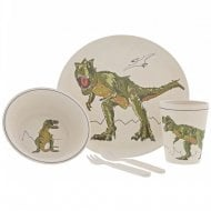 Roar-Some T-Rex Dinosaur Bamboo Set