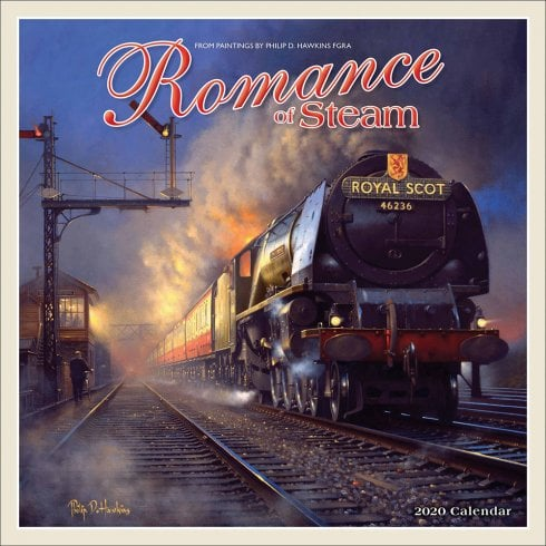 Otter House Romance Of Steam 2020 Calendar