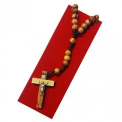 Rosary Wood Cross