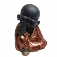 Rose Gold Buddha - Head On Hands