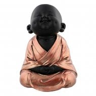 Rose Gold Meditating Buddha