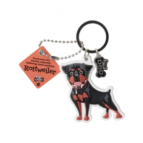 Wags & Whiskers Rottweiler Keyring