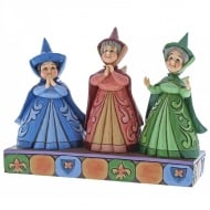 Royal Guests Three Fairies Figurine