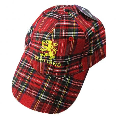 Thistle Products Ltd Royal Stewart and Lion Rampant Baseball Cap