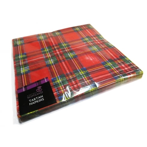 Thistle Products Ltd Royal Stewart Tartan Napkins