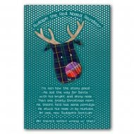 Rudolph Poem Christmas Card
