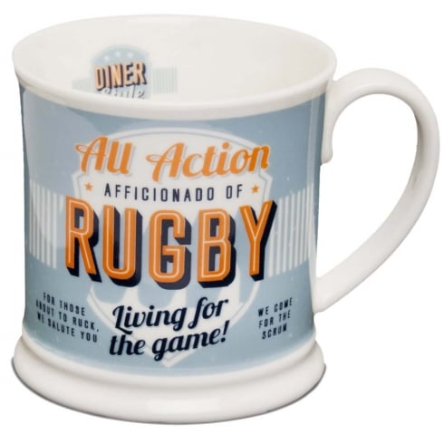 Diner Style Mugs Rugby