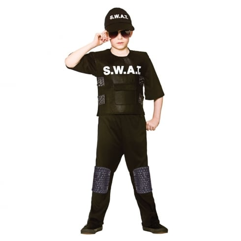 Wicked Costumes S.W.A.T. Team Commander (11-13) X Large