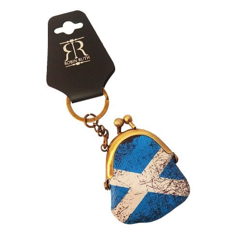 Robin Ruth Saltire Keyholder Royal Blue