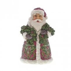 Santa With Evergreen