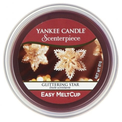 Yankee Candle Scenterpiece Melt Cup Glittering Star