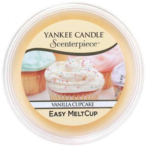 Yankee Candle Scenterpiece Melt Cup Vanilla Cupcake